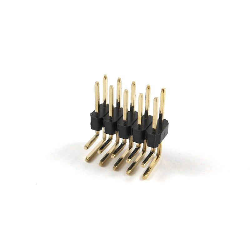 Header Male 2x5 Pins 90