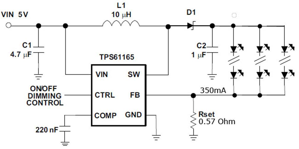 LED Driver 350mA