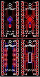 New DIP adapters