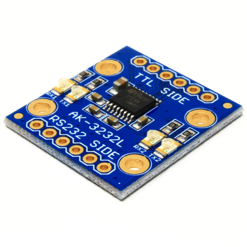 AK-3232L – TTL to RS232 Converter Breakout with LEDs