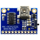 AK-MCP2221 - USB to Serial/I2C/GPIO
