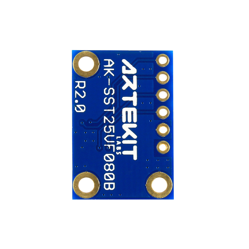 AK-SST25VF080B 8 Mbit SPI Serial Flash Breakout