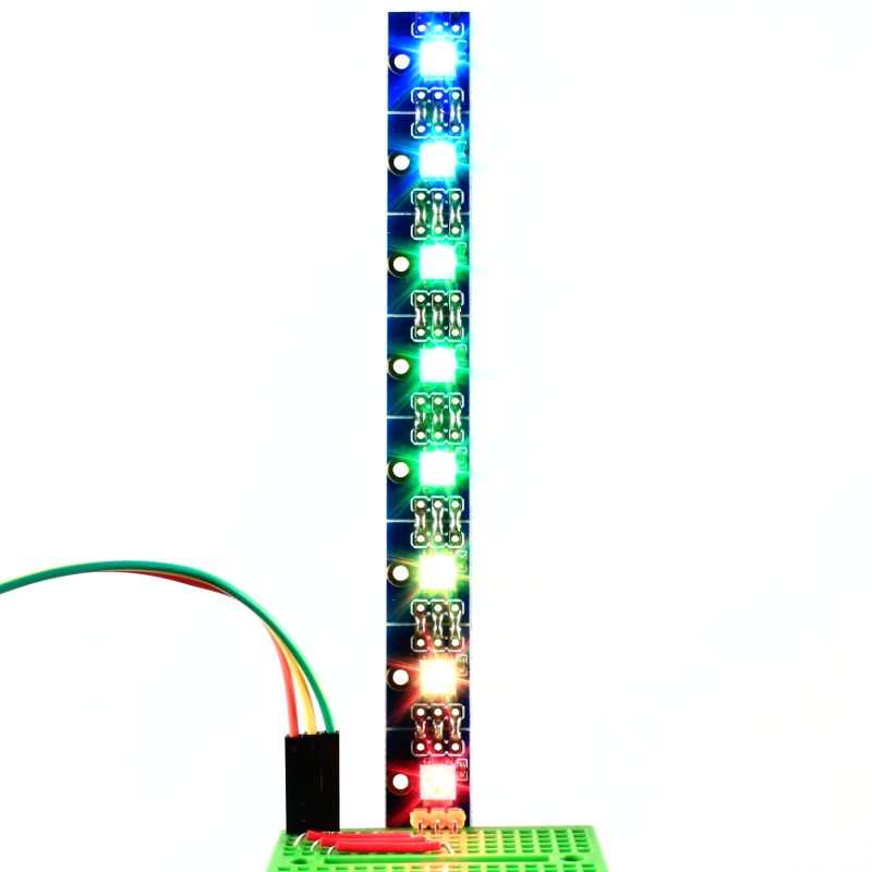 AK-WS2812B Addressable RGB LED Breakout – Pack of 8