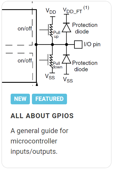All about GPIOs