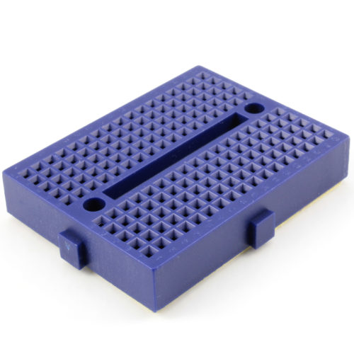 170 Tie points mini breadboard (blue)