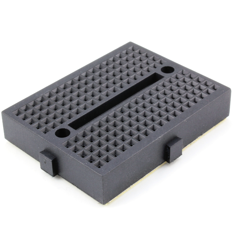 170 Tie points mini breadboard (black)