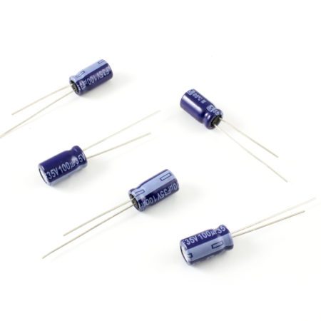 Electrolytic Capacitors - 100uF/35V