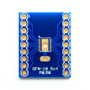 DFN-18 to DIP Adapter (5mm x 4mm - P0.50) Pack of 2