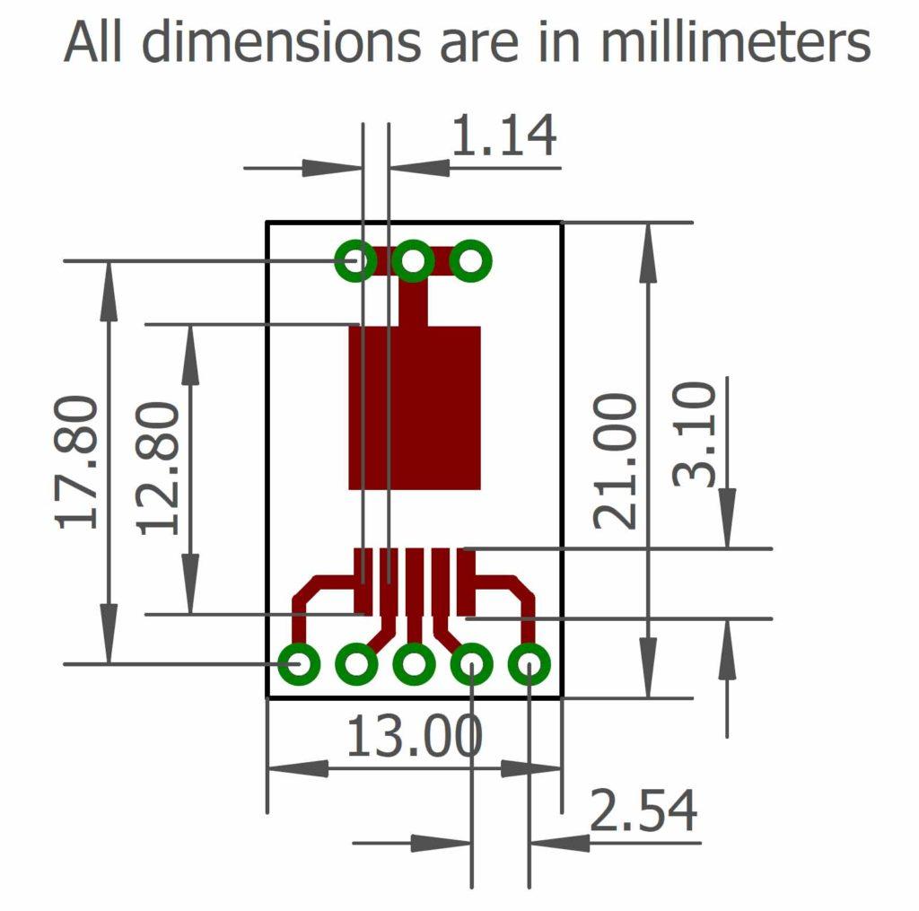 DPAK-5-6 Dimensions