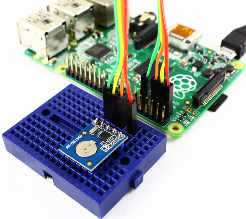 RTC and Raspberry Pi connections