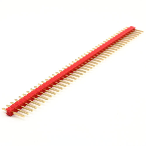 Header Male 40 Pins – Red