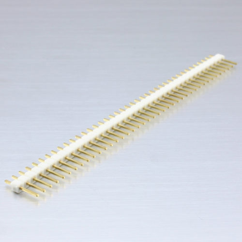 Header Male 40 Pins – White