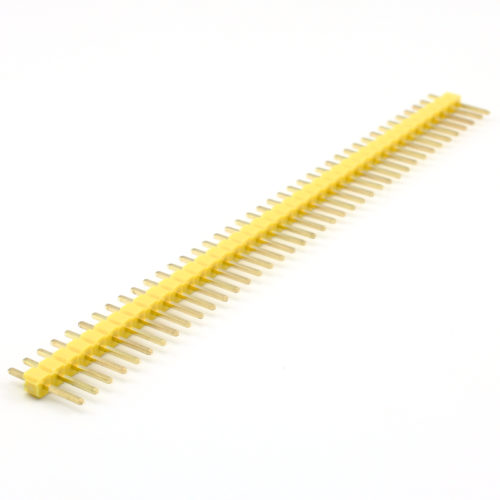 Header Male 40 Pins – Yellow