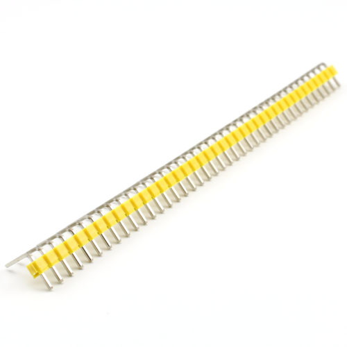 Header Male 40 Pins 90º – Yellow