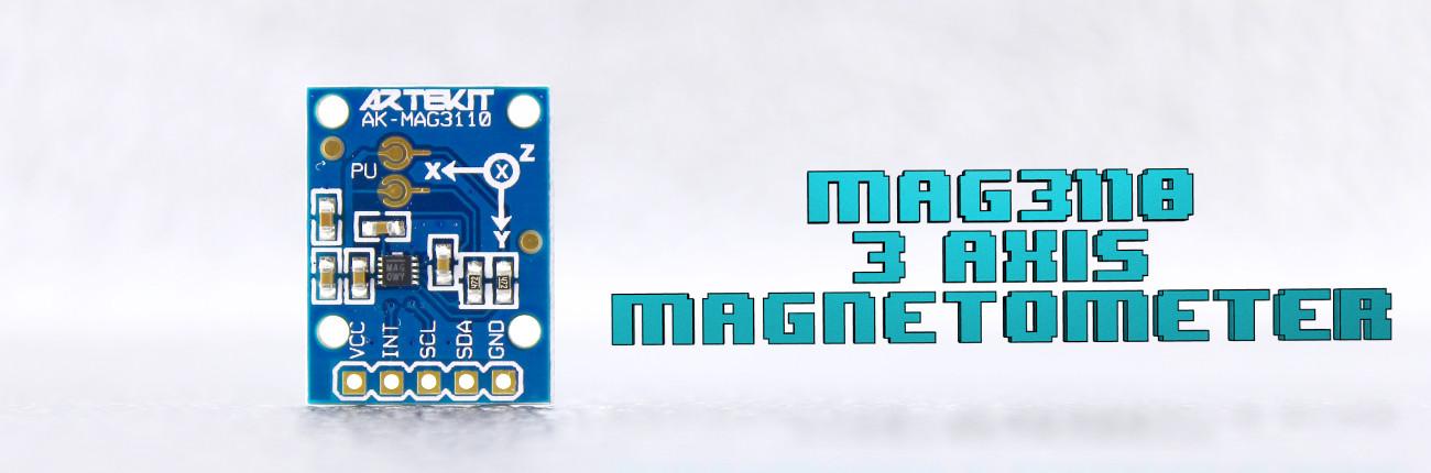 MAG3110 Magnetometer banner