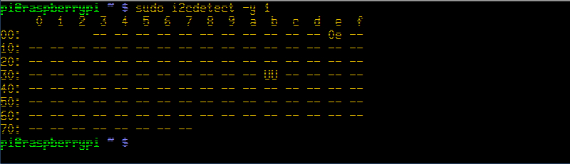 Raspberry Pi - I2C - MAG3110