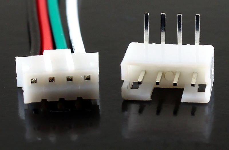 JST PH 4-Pin Cable with Male/Female Connector