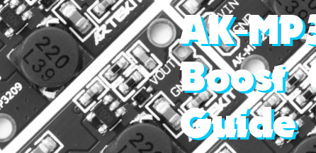 AK-MP3209 Boost Converter Guide