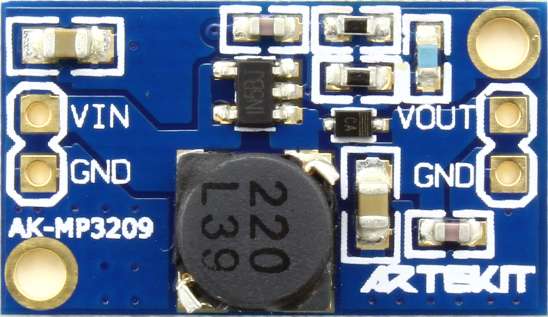 AK-MP3902 - Top view