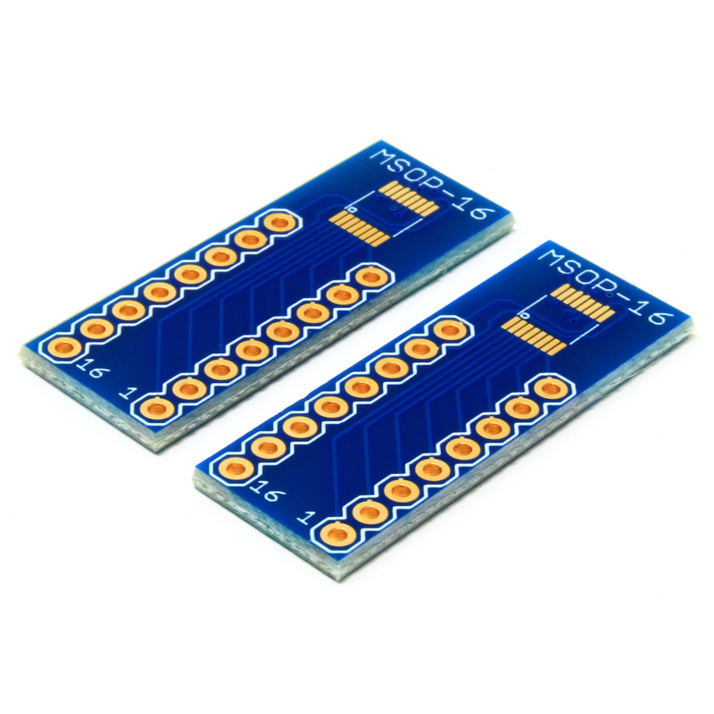 MSOP-16 to DIP Adapter - Pack of 2