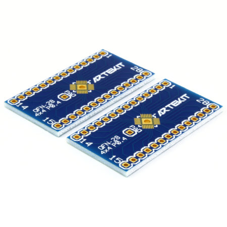 QFN-28 - 4x4 - P0.40 to DIP Adapter - Pack of 2