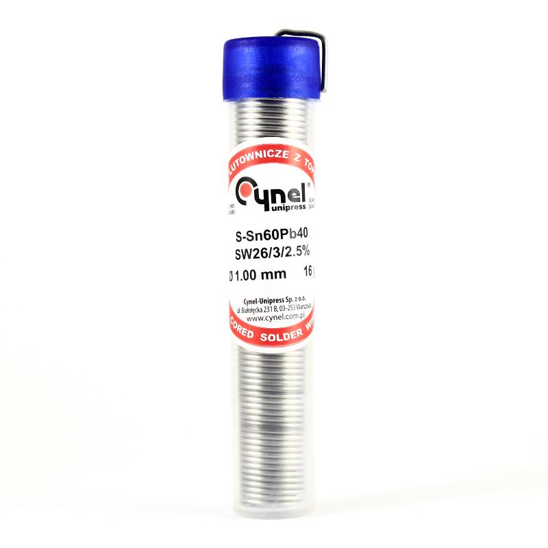 Solder - Sn60Pb40 - 1mm -16g Tube