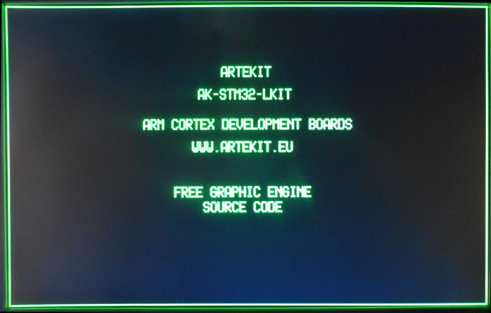 VGA output using a 36-pin STM32 | Artekit