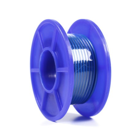 Wire Spool - Stranded - 22 AWG - 5m - Blue