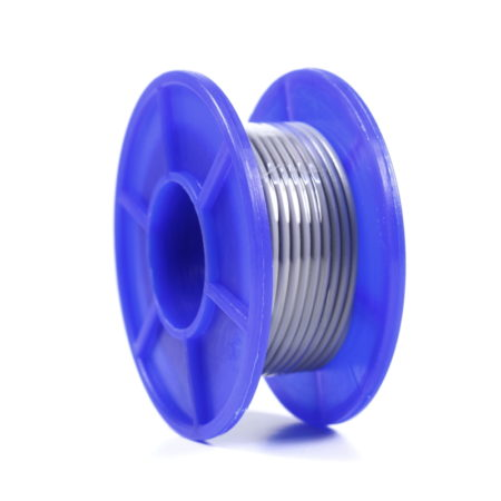 Wire Spool - Stranded - 22 AWG - 5m - Gray