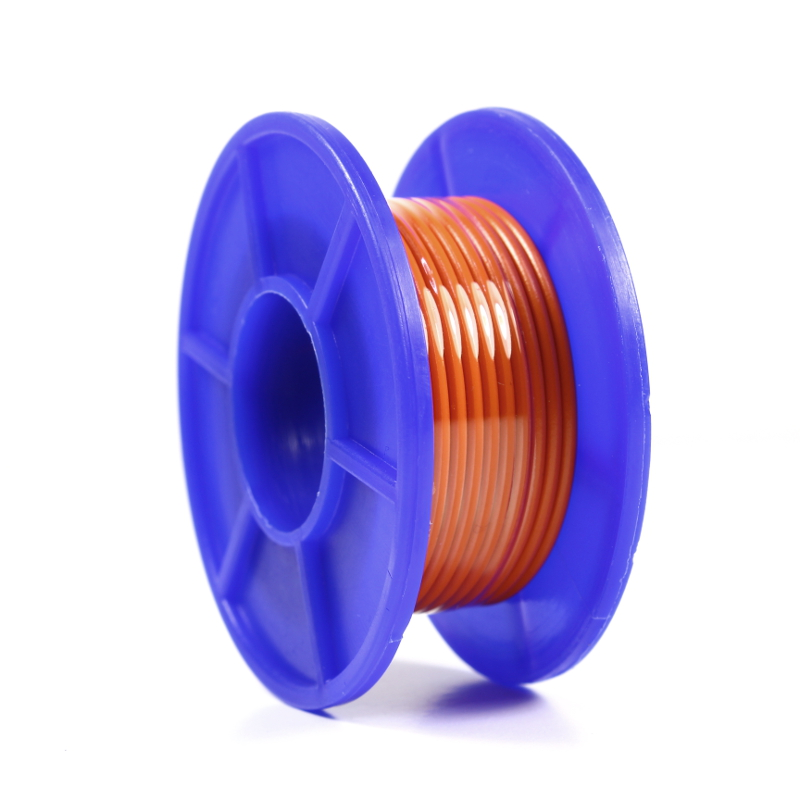Wire Spool - 22 AWG - Stranded - 5m - Orange