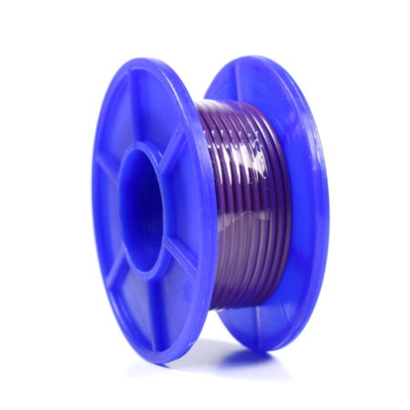 Wire Spool - Stranded - 22 AWG - 5m - Violet